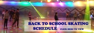 Back To School Skating Schedule Starts August 26th!
