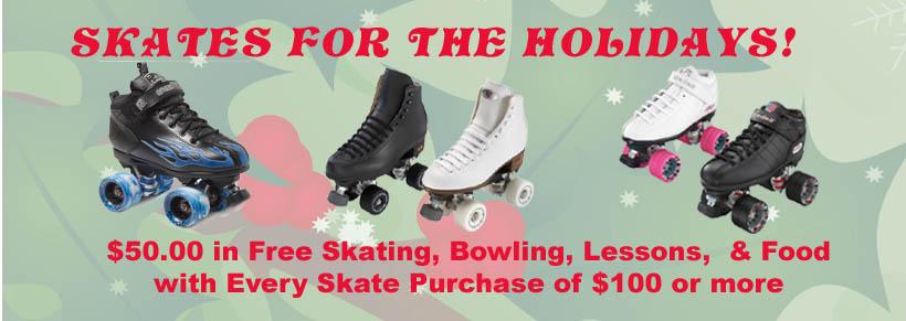 Skates For The Holidays!