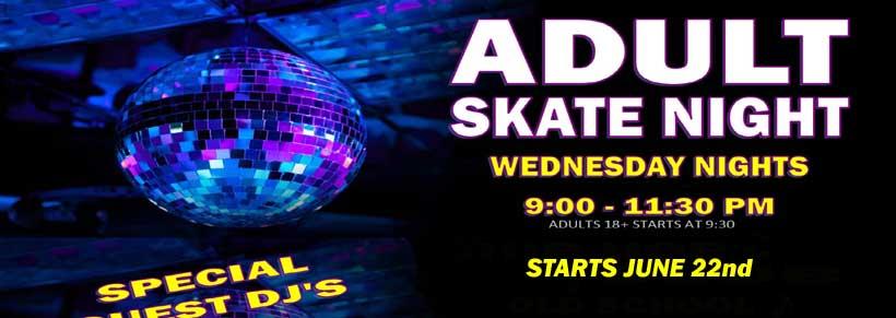 Adult Skate Night 2016