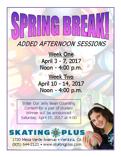 Spring Break Flyer 2017