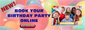 Now Booking Birthday Parties Online!