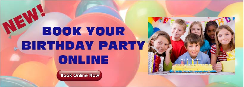 No Booking Birthday Parties Online!