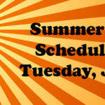 Summer Skating Schedule Starts June 18th